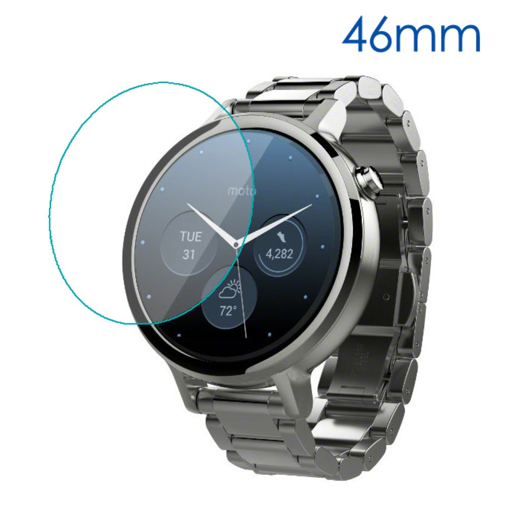 Motorola Moto 360 (46 mm) Skærmbeskyttelse