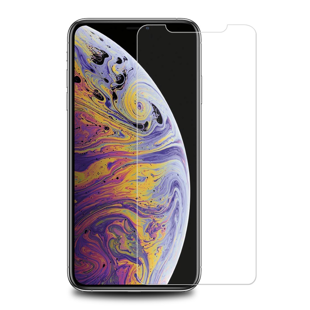 Image of   Apple iPhone 11 Pro Max Full Fit Hærdet Glas - Gennemsigtig