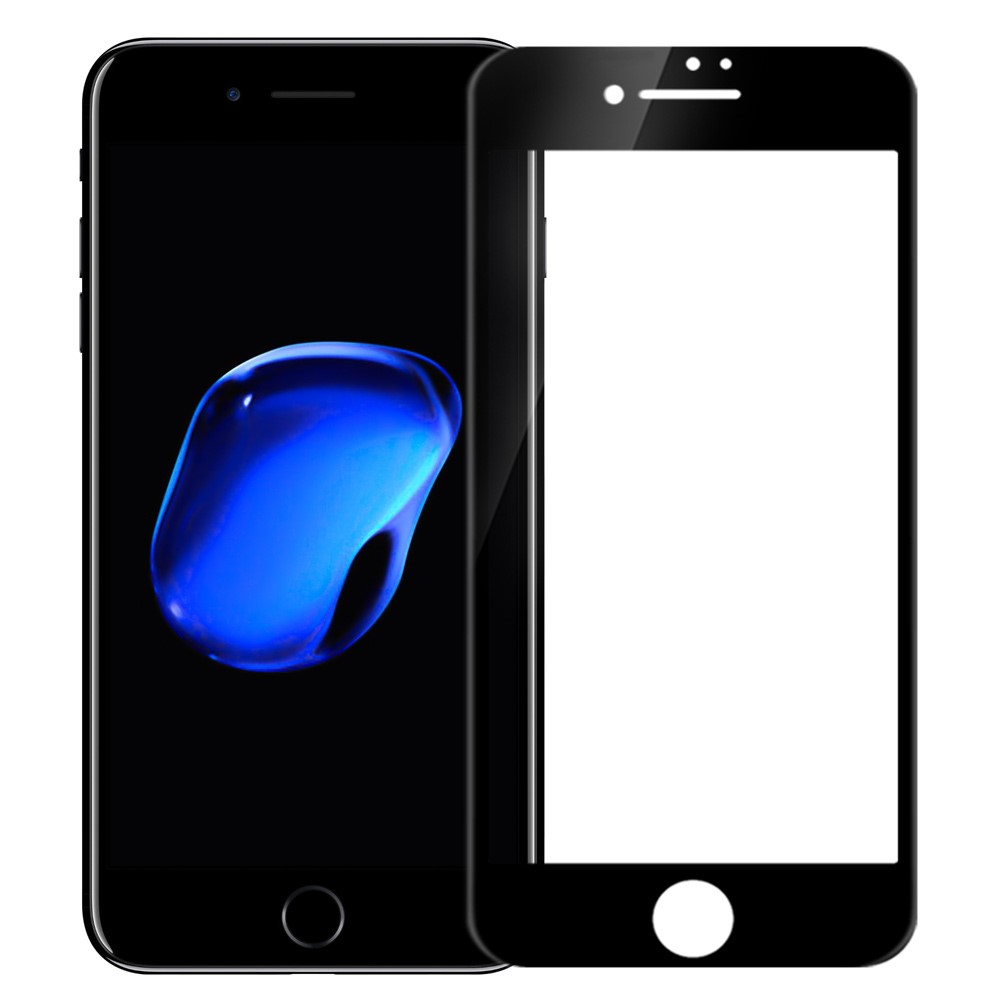 Image of   Apple iPhone 7/8 NILLKIN CP+ Full-Size Hærdet Glas - Sort