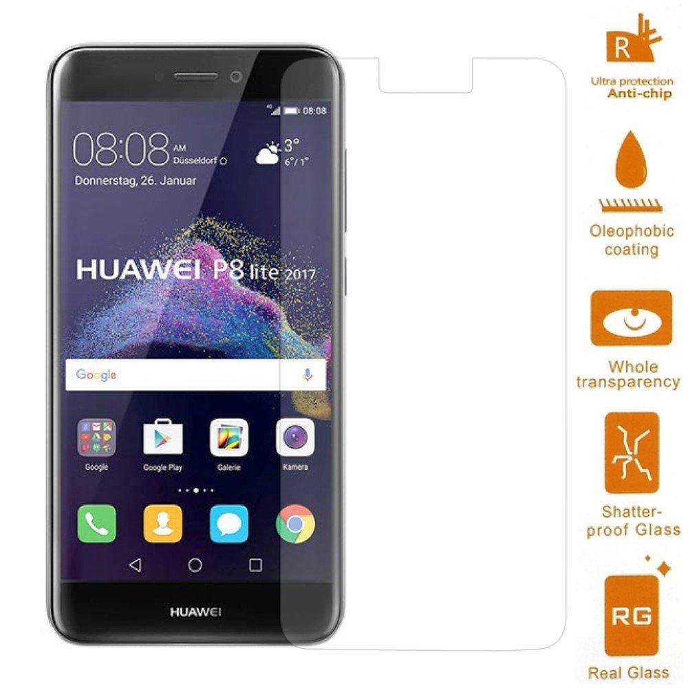 Image of   Huawei Honor 8 Lite PanserPro Hærdet Glas Skærmbeskyttelse (afgrænset)