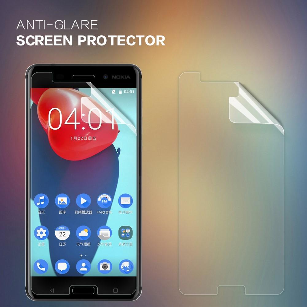 Image of Nokia 6 NILLKIN Mat Anti-scratch Skærmbeskyttelse