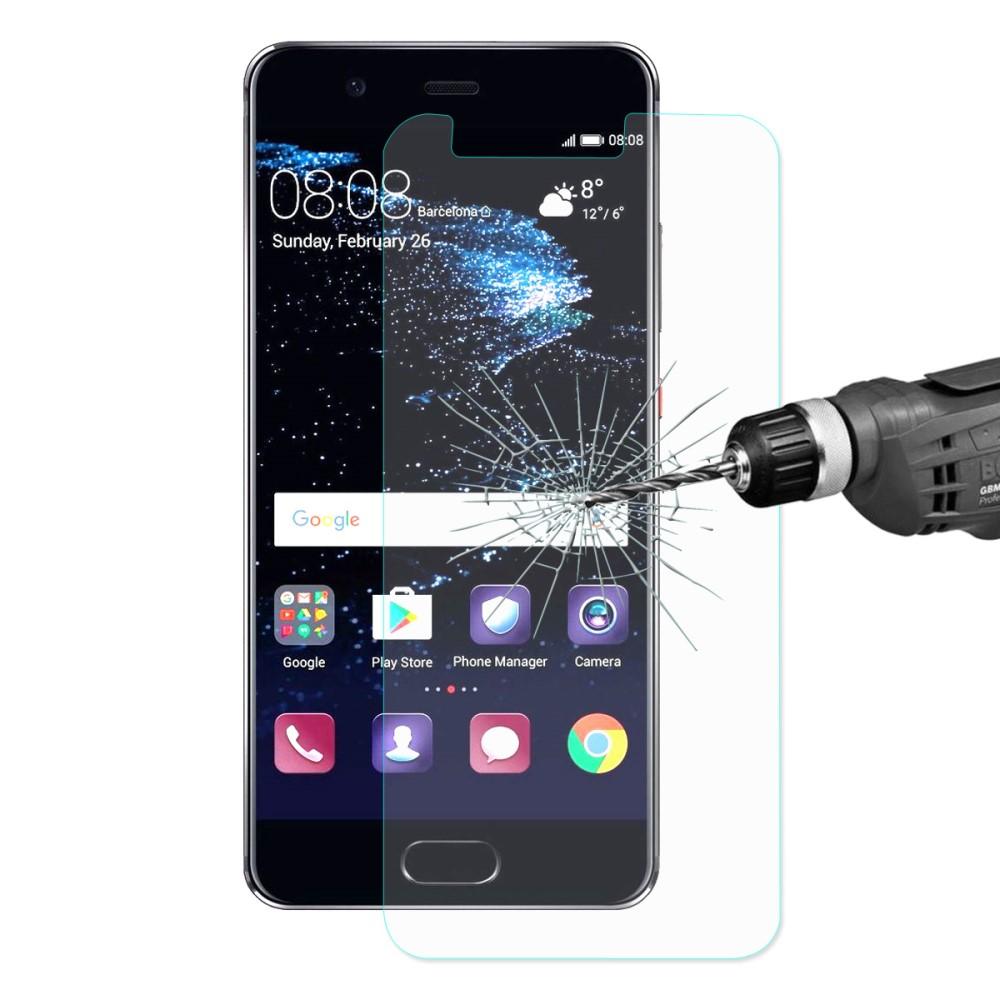 Image of Huawei P10 Lite HAT PRINCE Hærdet Glas Skærmbeskyttelse (afgrænset)