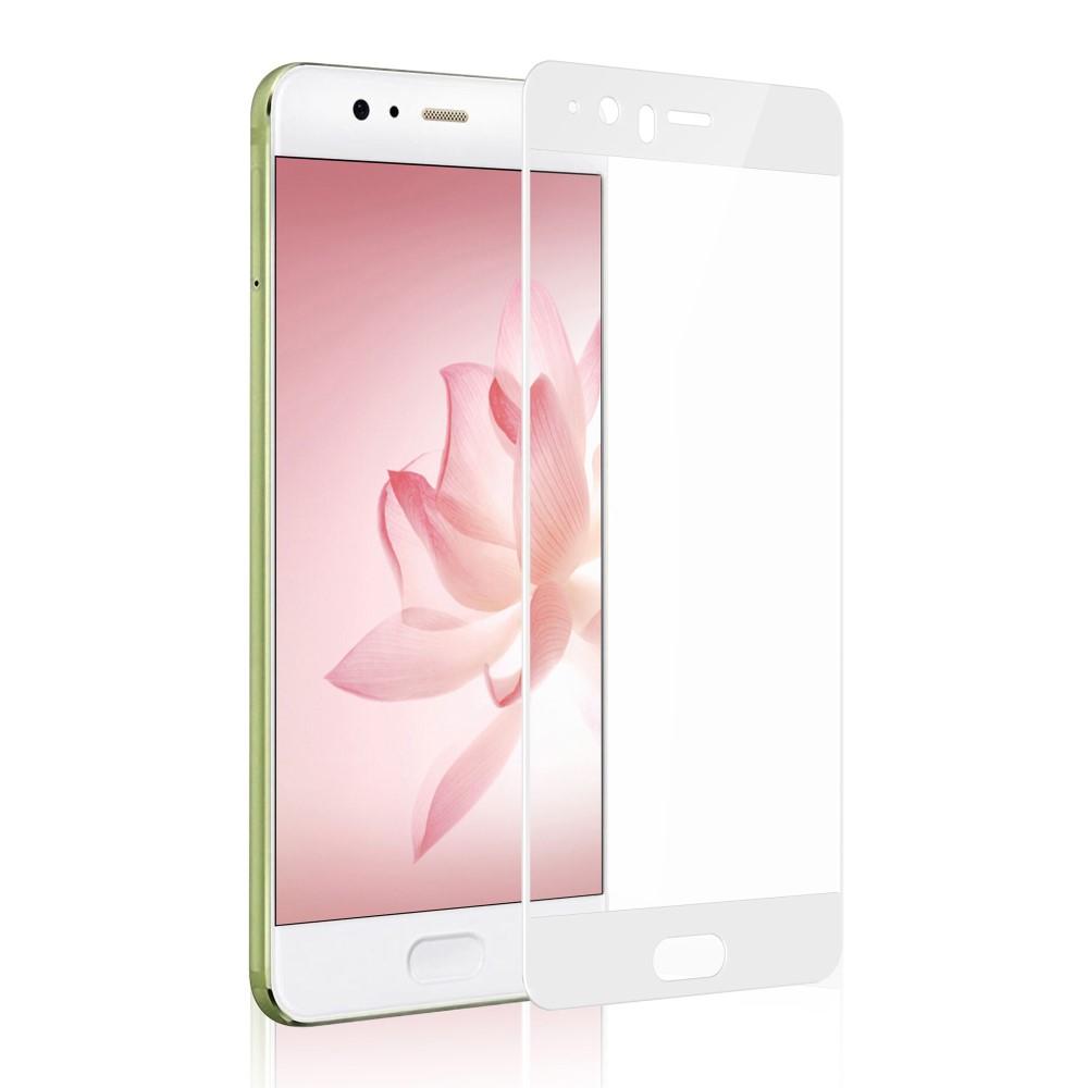 Image of Huawei P10 Plus DEVIA PanserPro Hærdet Glas Skærmbeskyttelse (full-size) - Hvid