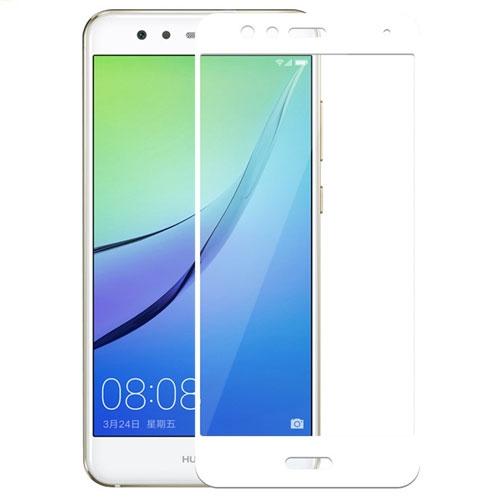 Image of Huawei P10 Lite MOCOLO Hærdet Glas Skærmbeskyttelse (full-size) - Hvid