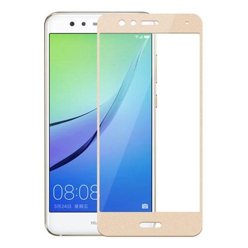 Image of Huawei P10 Lite MOCOLO Hærdet Glas Skærmbeskyttelse (full-size) - Guld