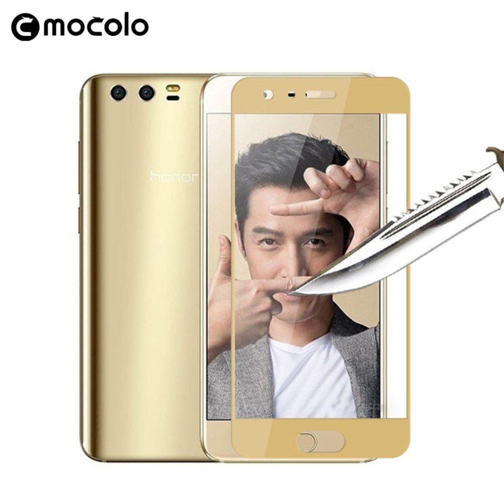 Image of   Huawei Honor 9 MOCOLO PanserPro Hærdet Glas Skærmbeskyttelse (full-size) - Guld