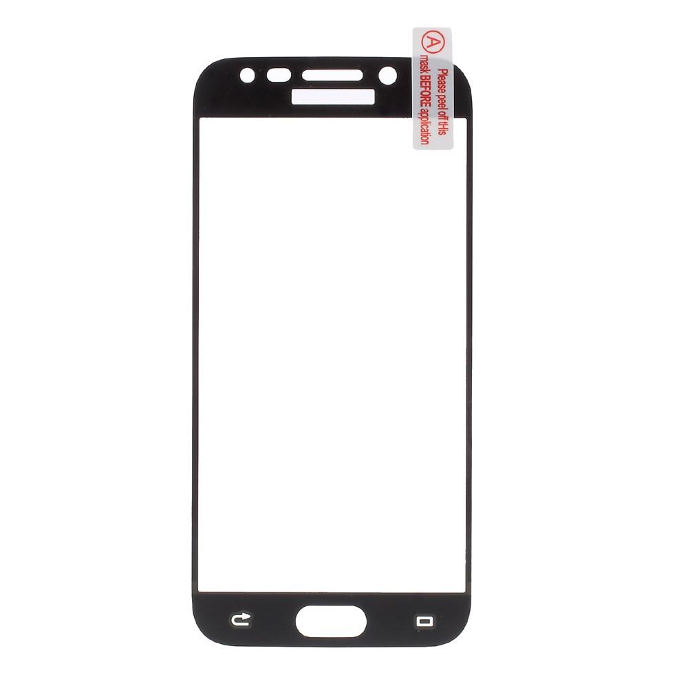 Samsung Galaxy J5 (2017) Full-size Panser Pro Hærdet Glas Skærmbeskyttelse - Sort