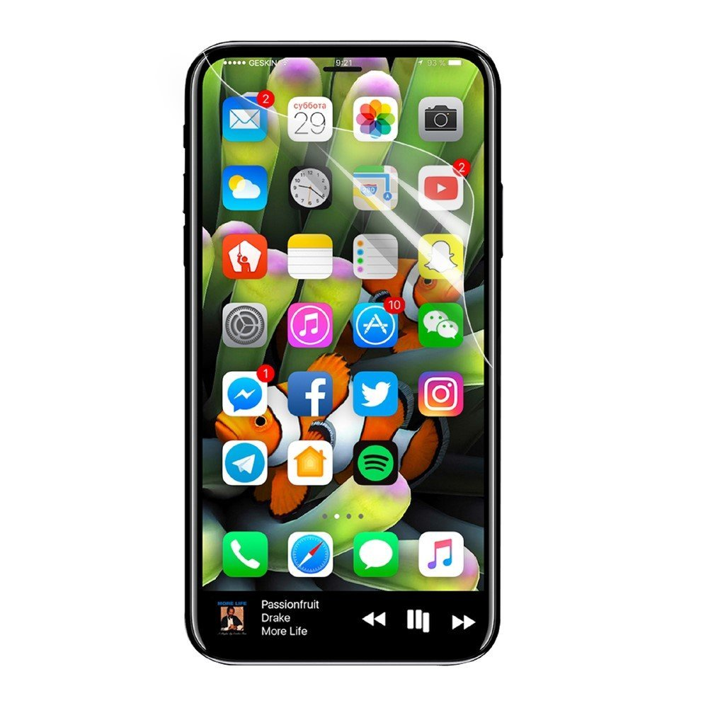 Image of   Apple iPhone X/XS Yourmate Skærmbeskyttelse