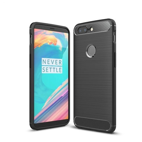 OnePlus 5T inCover Brushed TPU Cover - Sort