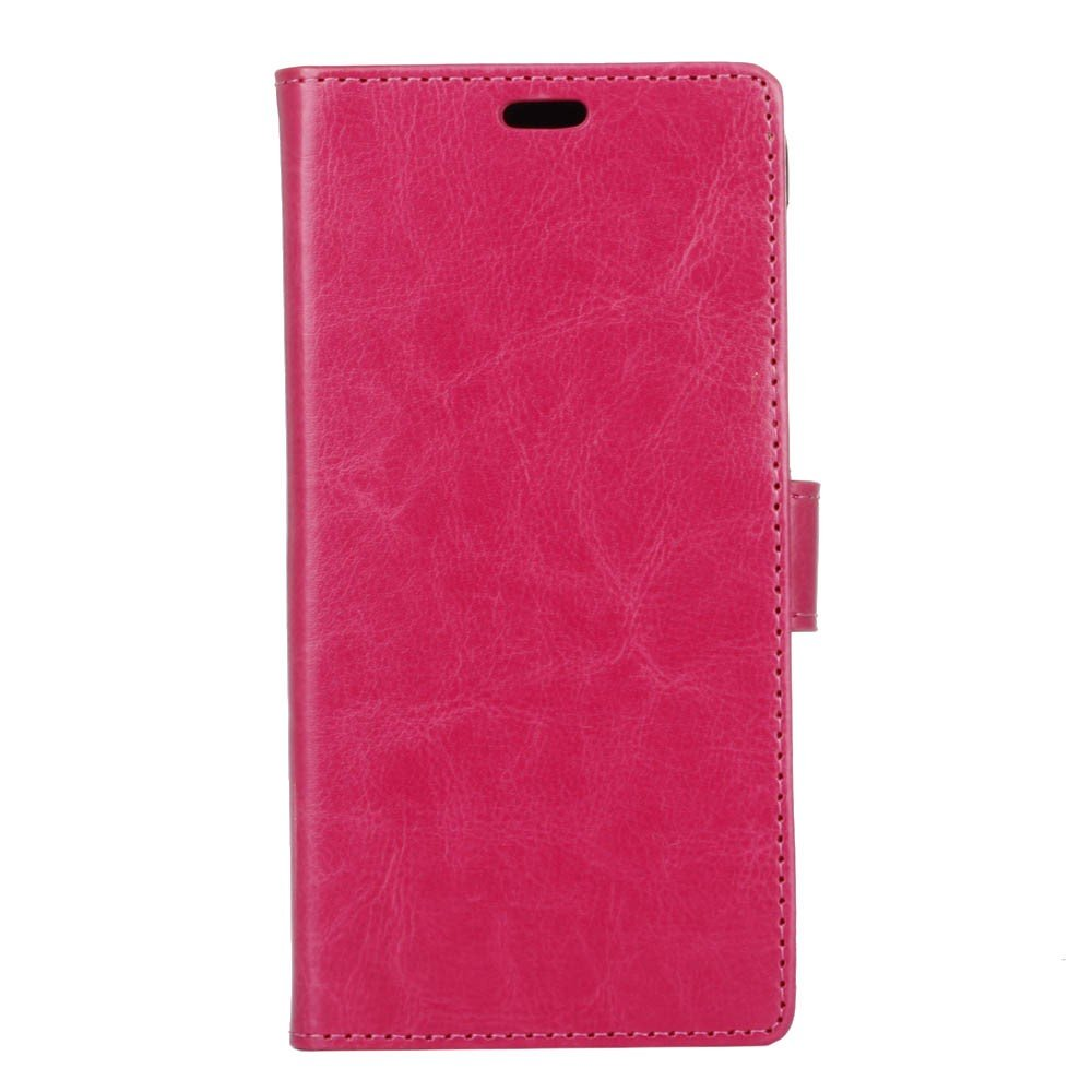 OnePlus 5T Pu læder Flipcover m. Kortholder - Pink