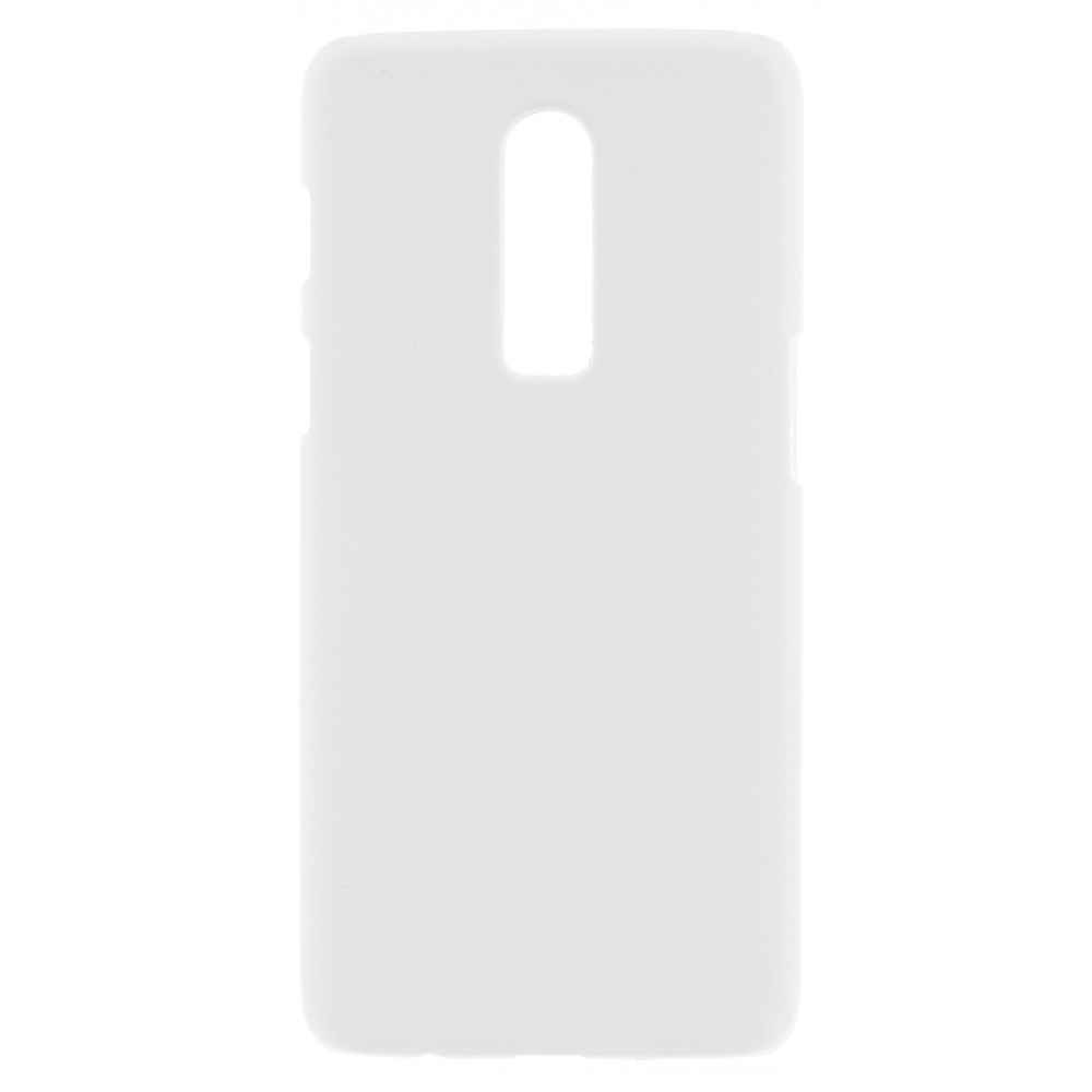 Image of OnePlus 6 inCover Plastik Cover - Hvid