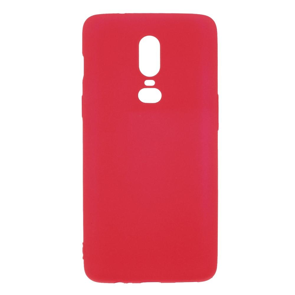 OnePlus 6 TPU Cover - Rød