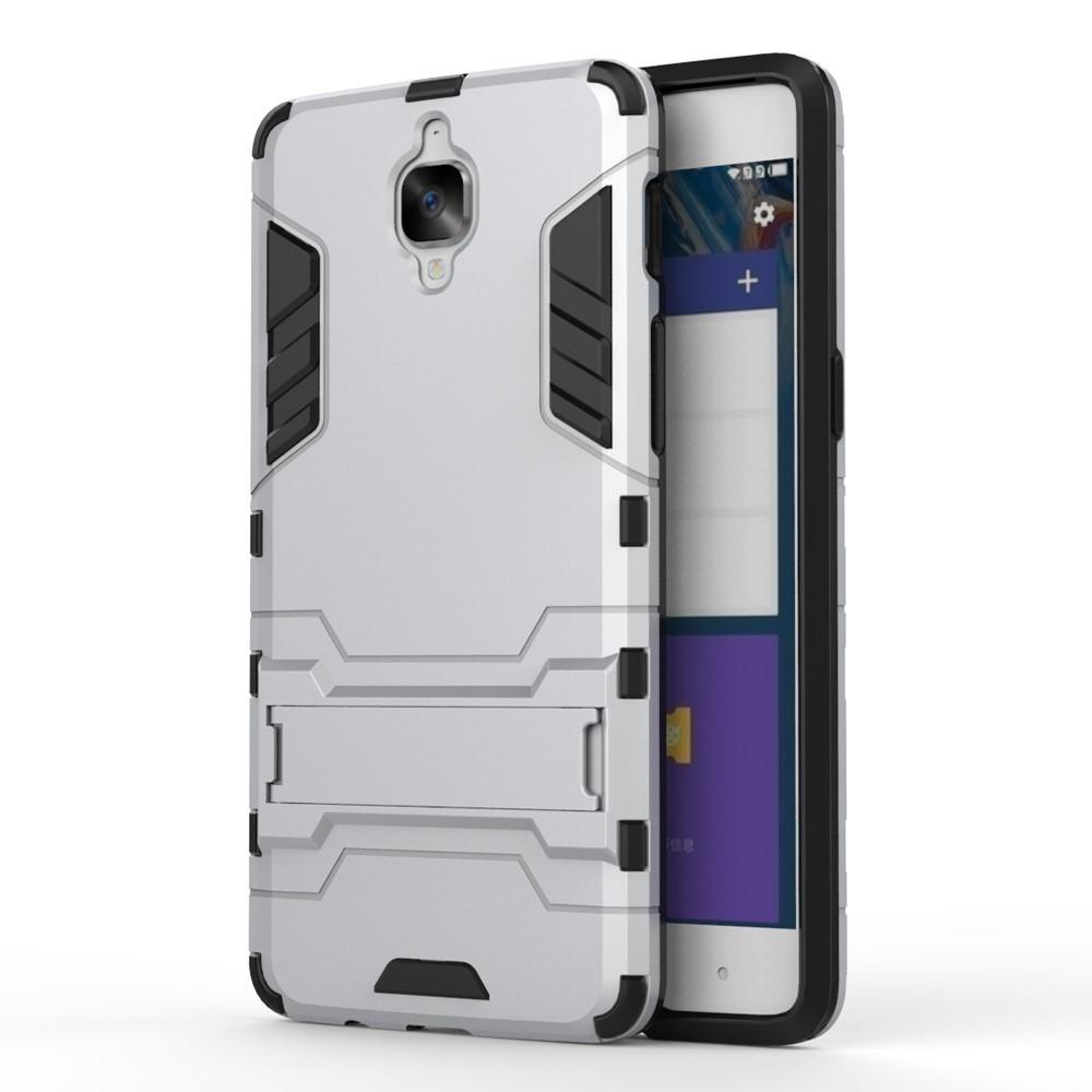 OnePlus 3/3T InCover TPU Hybrid Cover - Sølv