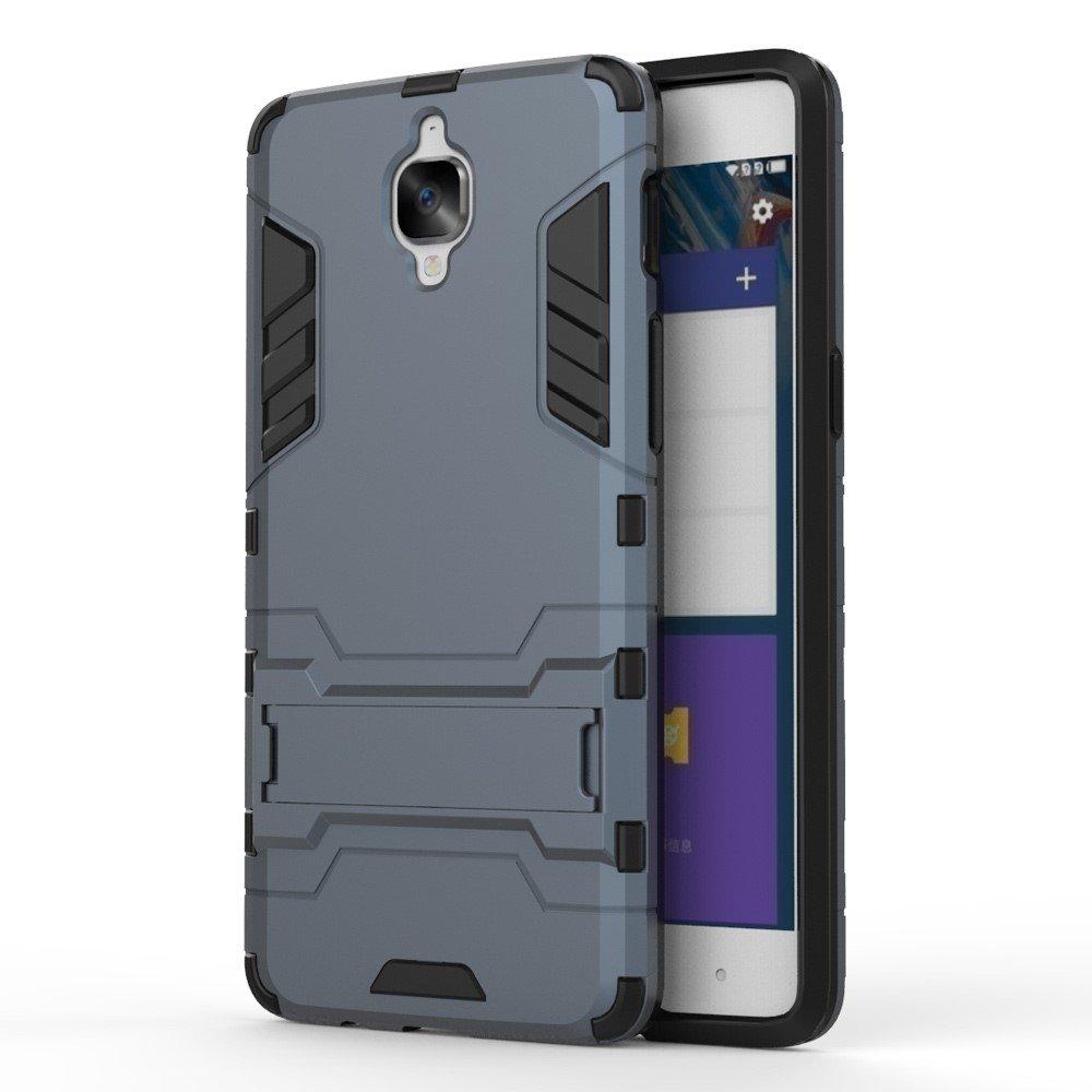OnePlus 3/3T InCover TPU Hybrid Cover - Mørk blå