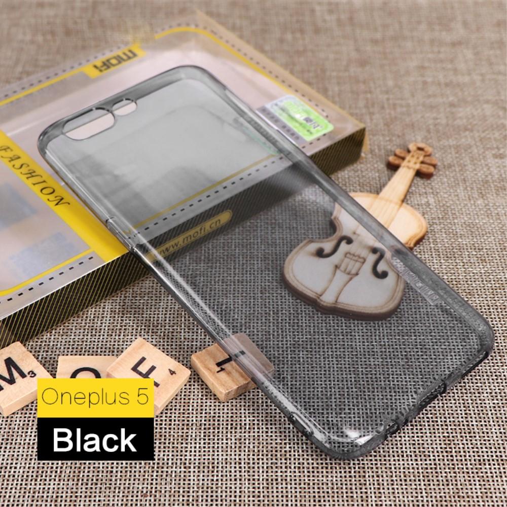 OnePlus 5 MOFI TPU Cover - Grå