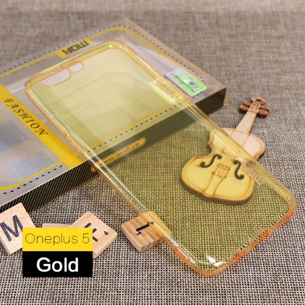 Image of   OnePlus 5 MOFI TPU Cover - Gul