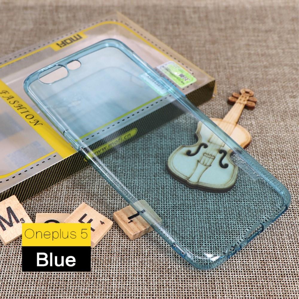 Image of   OnePlus 5 MOFI TPU Cover - Blå