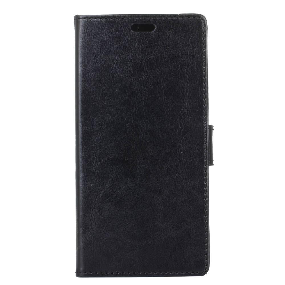 OnePlus 5 PU læder Flipcover m. Kortholder - Sort