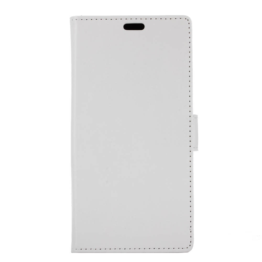 OnePlus 5 PU læder Flipcover m. Kortholder - Hvid