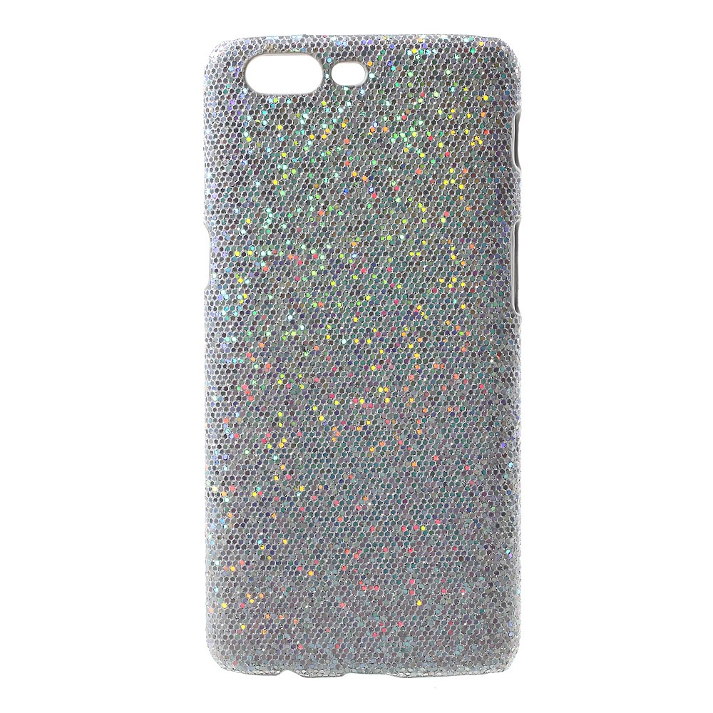 OnePlus 5 InCover Plastik Cover - Sølv Glimmer