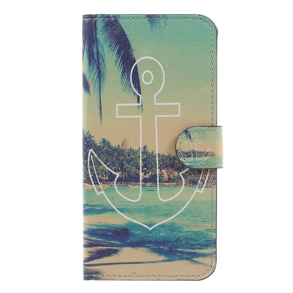 Billede af OnePlus 5 PU læder Flipcover m. Kortholder - Anchor