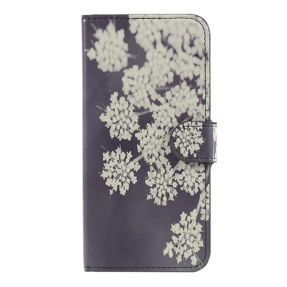 Billede af OnePlus 5 PU læder Flipcover m. Kortholder - Blooming Flowers
