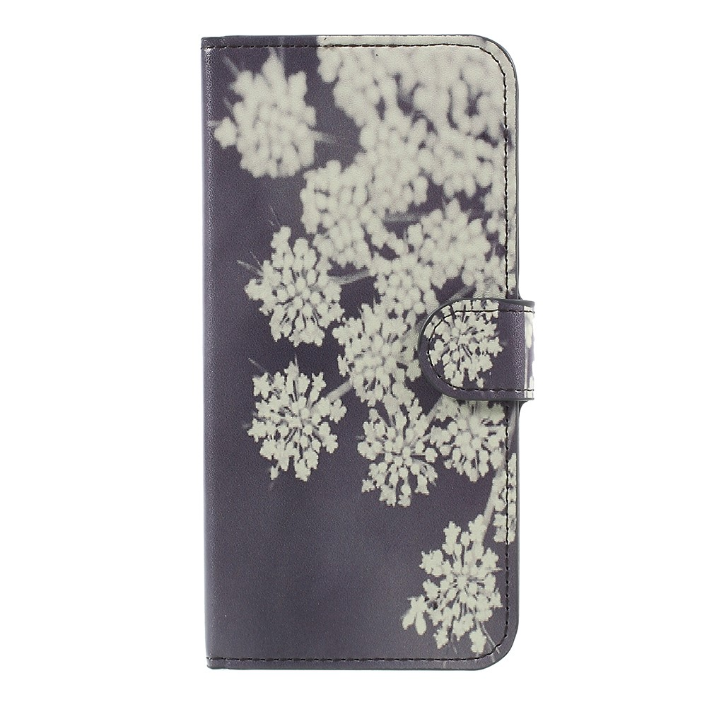 Image of   OnePlus 5 PU læder Flipcover m. Kortholder - Blooming Flowers