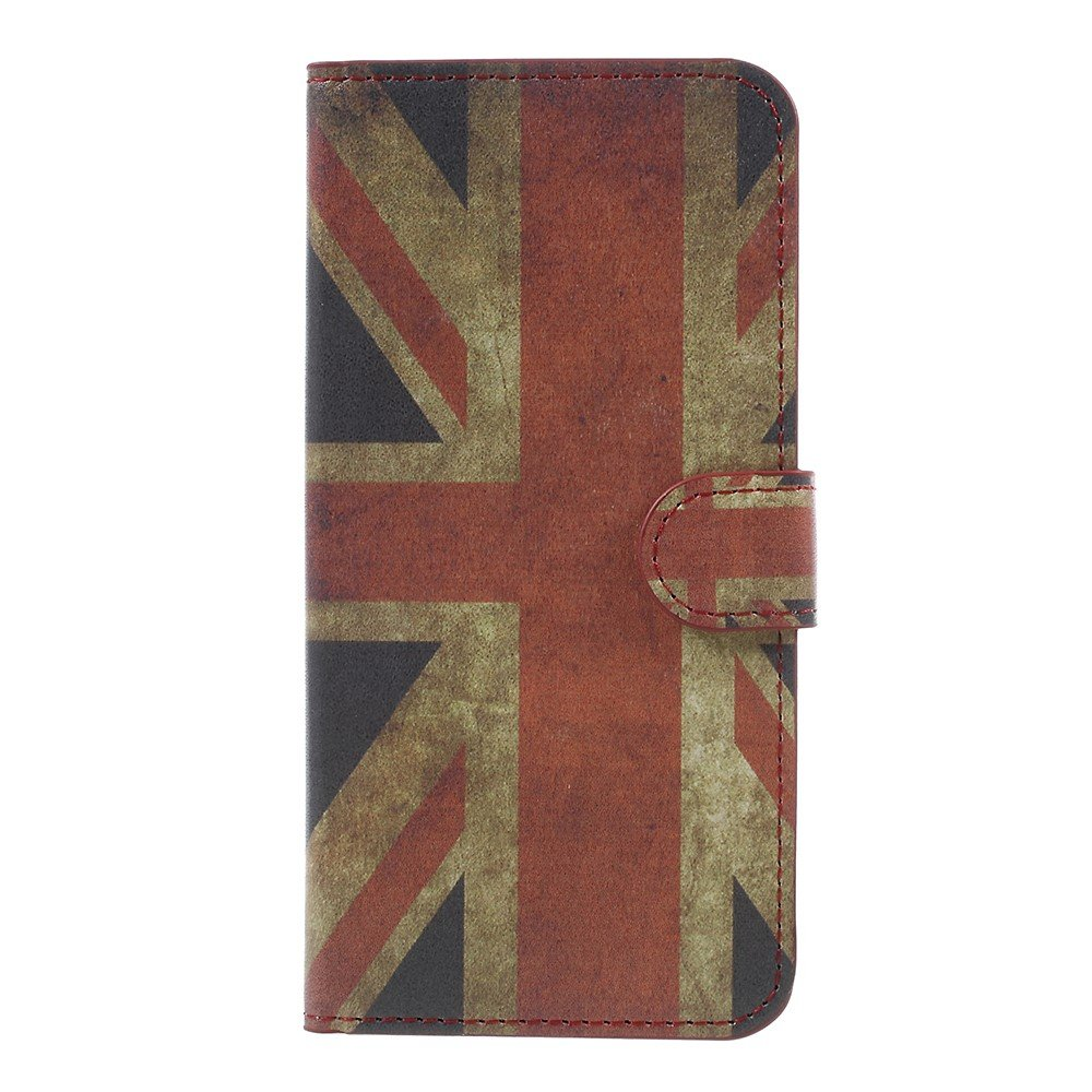 Image of   OnePlus 5 PU læder Flipcover m. Kortholder - UK Flag