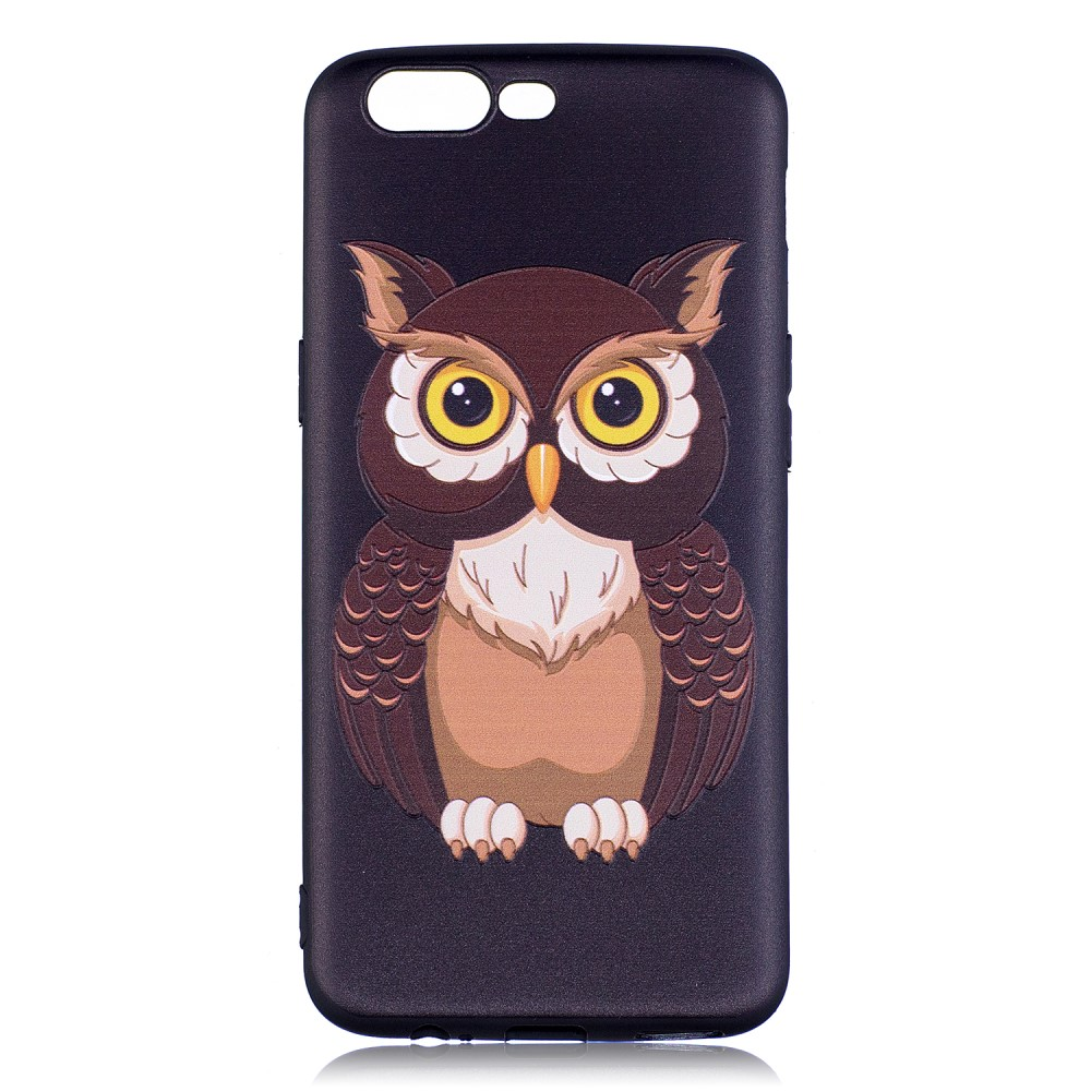OnePlus 5 inCover TPU Cover - Owl