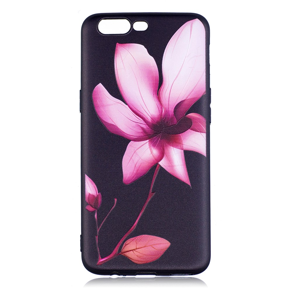 OnePlus 5 inCover TPU Cover - Elegant Flower
