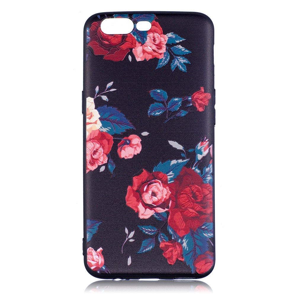 OnePlus 5 inCover TPU Cover - Roses