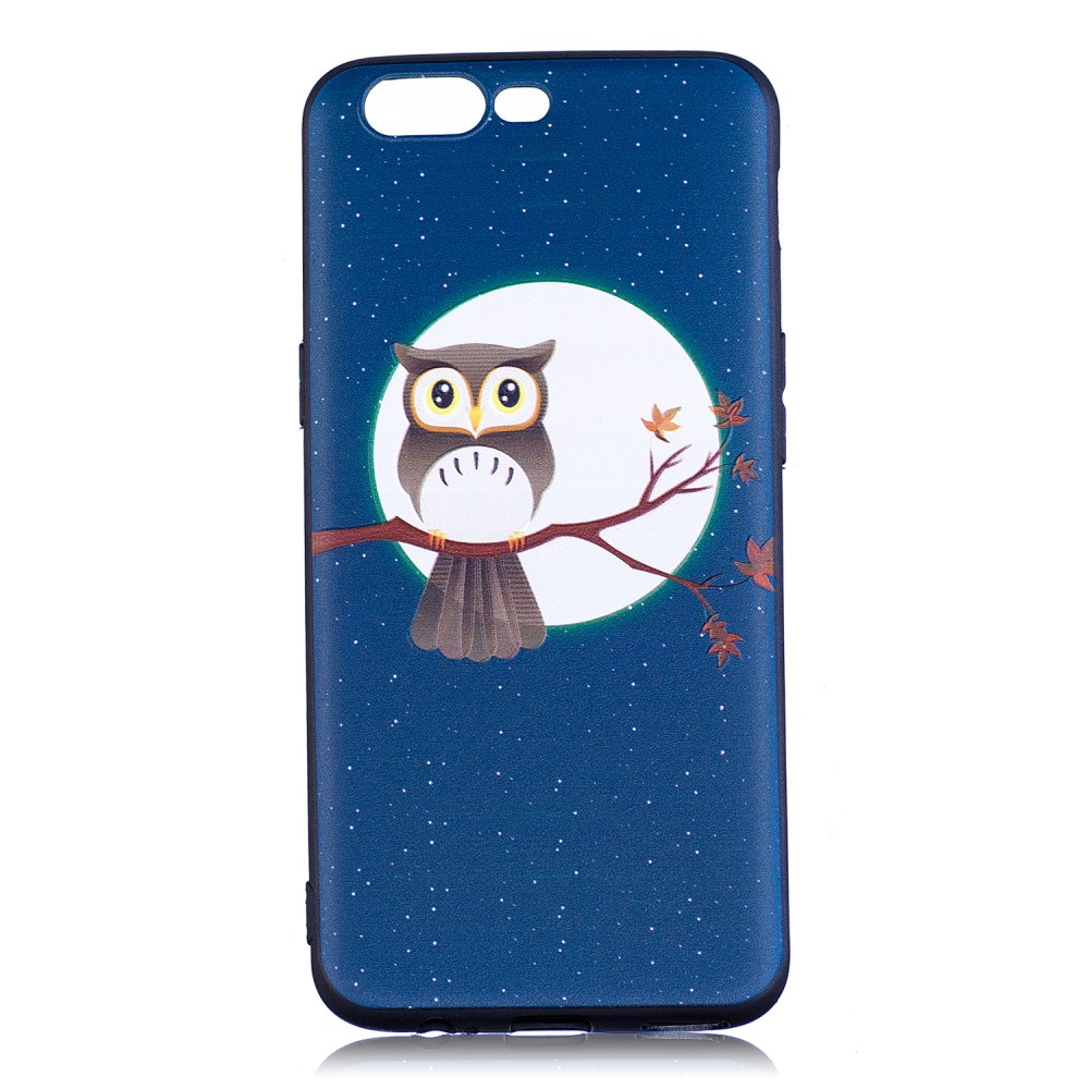 OnePlus 5 inCover TPU Cover - Moon and Owl