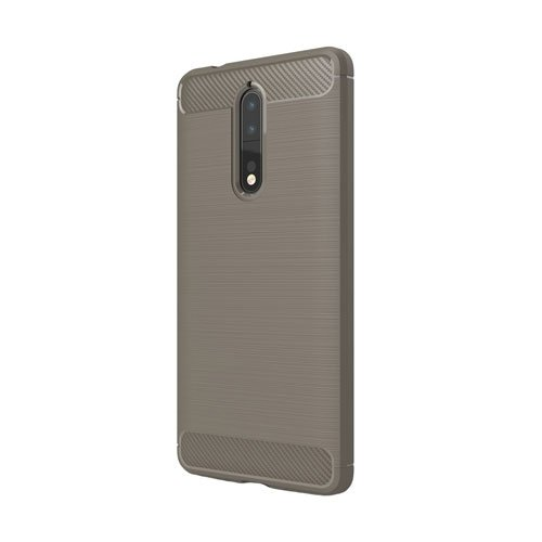 Image of Nokia 8 inCover Brushed TPU Cover - Grå