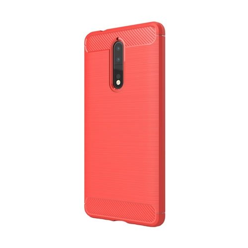 Image of Nokia 8 inCover Brushed TPU Cover - Rød