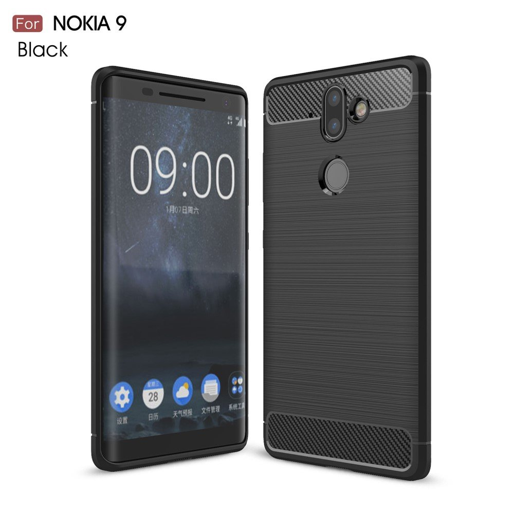 Image of Nokia 8 Sirocco InCover TPU Cover - sort