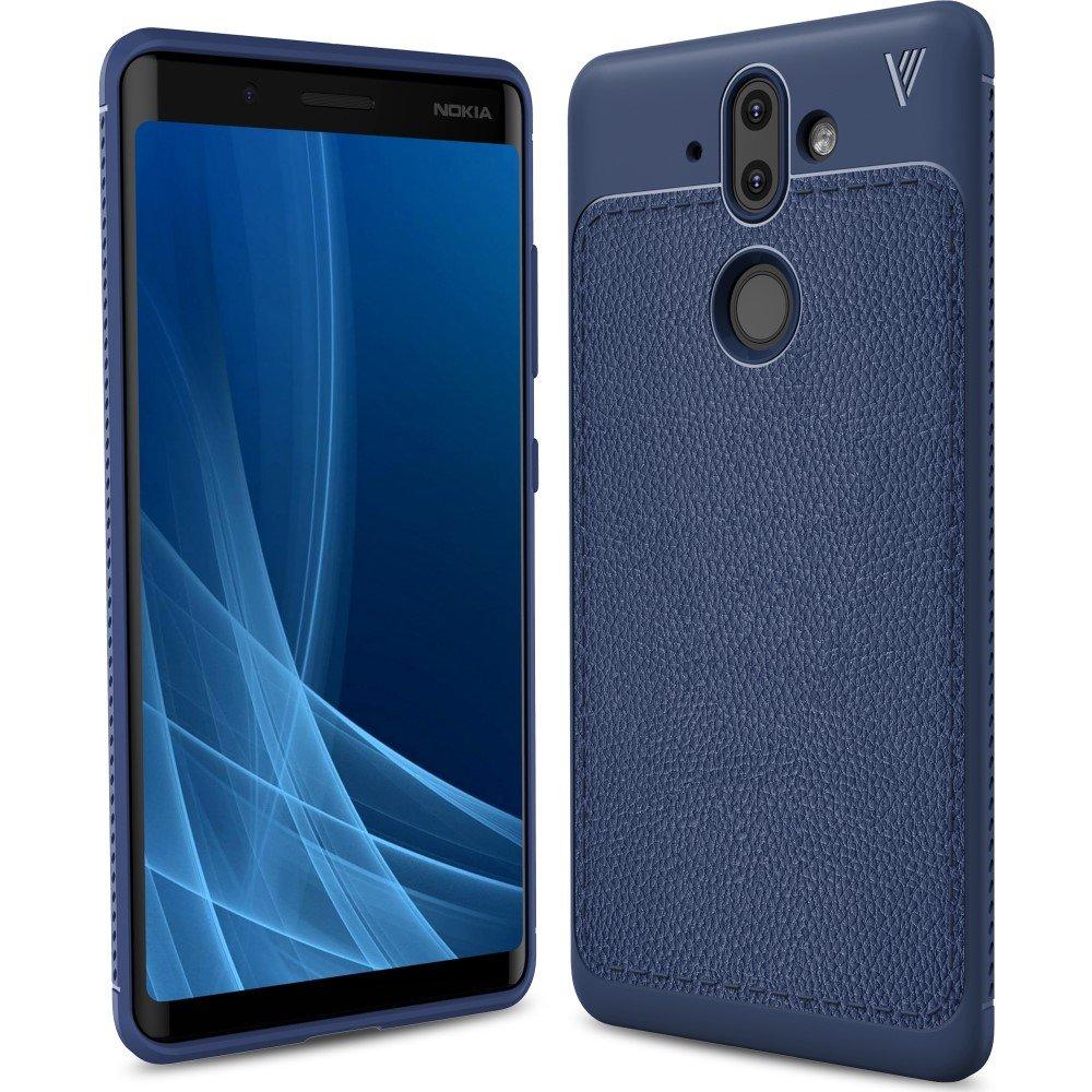 Image of Nokia 8 Sirocco IVSO TPU Cover - mørke blå