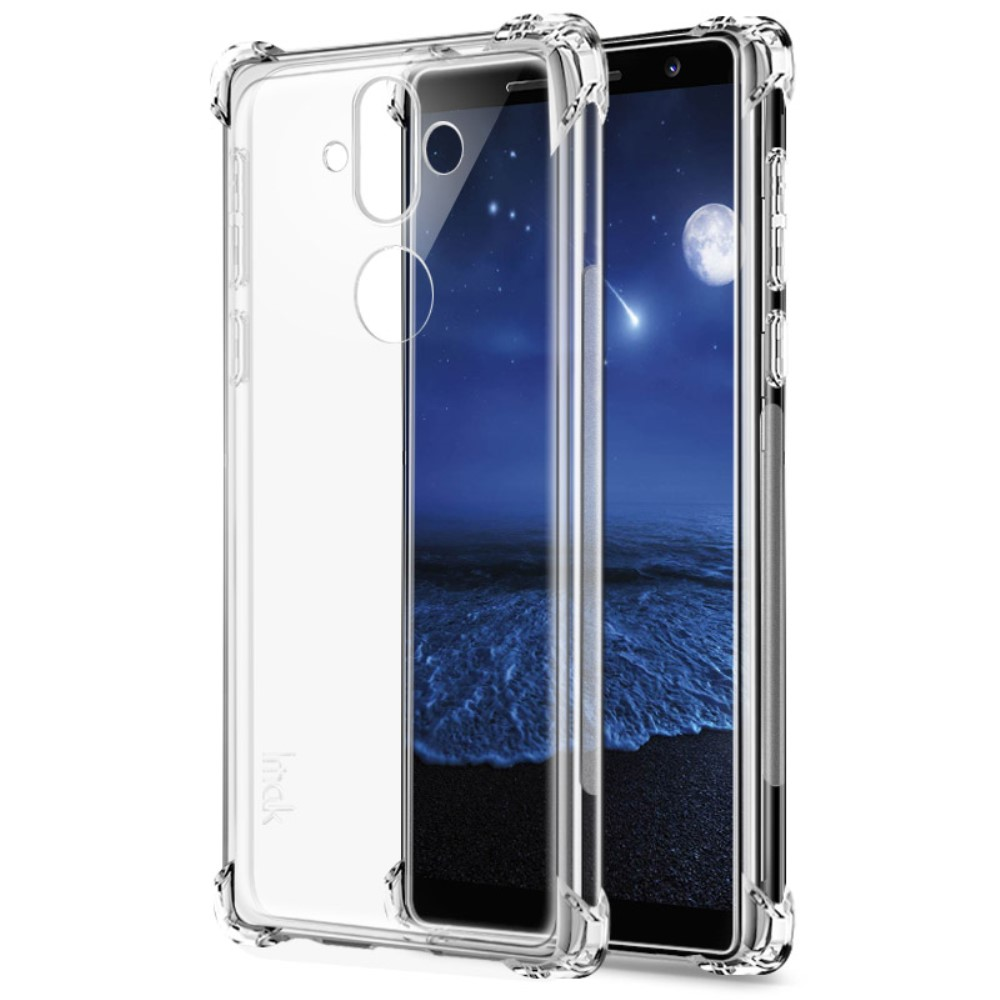 Image of Nokia 8 Sirocco IMAK TPU Cover - gennemsigtig