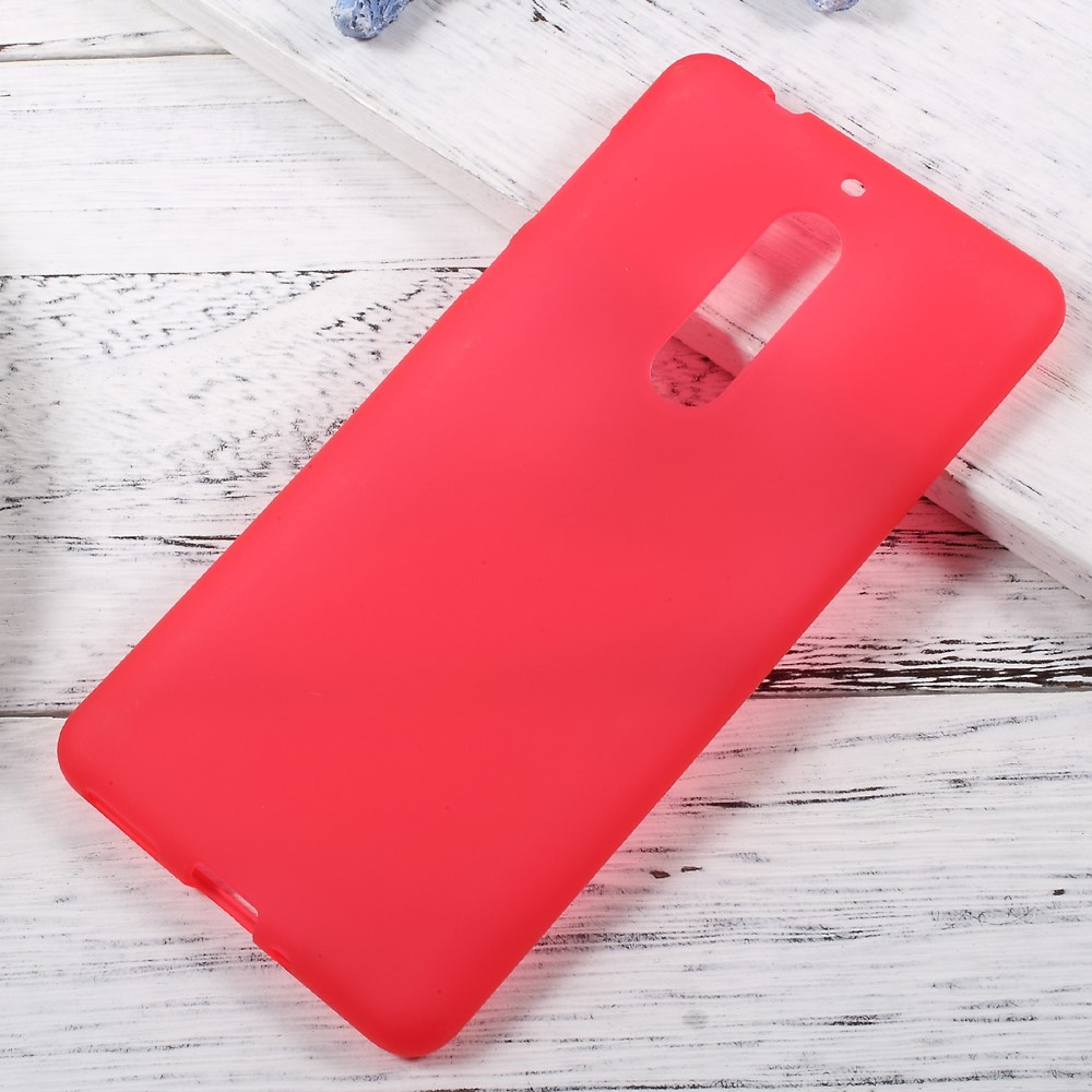 Image of Nokia 5 InCover TPU Cover - Rød