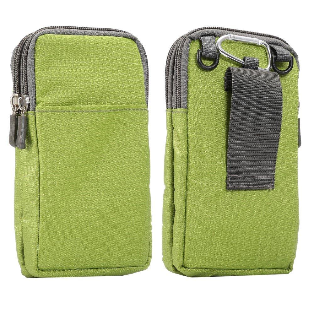 Billede af Bæltetaske Til Smartphones m. Karabinhage & Strop - Grøn