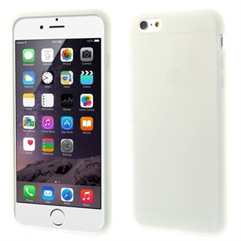 Image of   Apple iPhone 6/6s Plus inCover Silikone Cover - Hvid