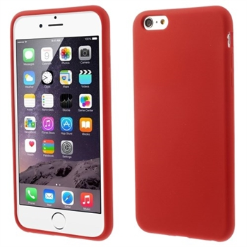 Image of   Apple iPhone 6/6s Plus inCover Silikone Cover - Rød