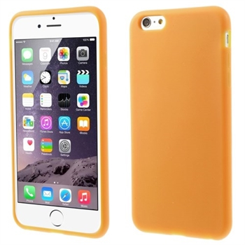 Image of   Apple iPhone 6/6s Plus inCover Silikone Cover - Orange