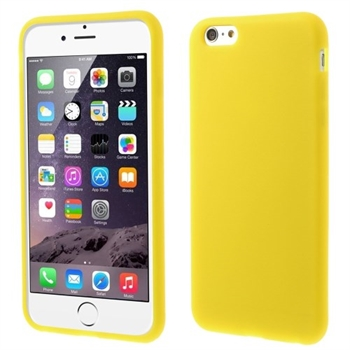 Image of   Apple iPhone 6/6s Plus inCover Silikone Cover - Gul