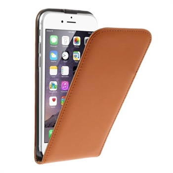 Image of   Apple iPhone 6/6s Style Flip Cover - Orange