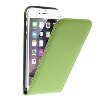 Image of   Apple iPhone 6/6s Style Flip Cover - Grøn