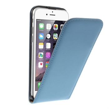 Image of   Apple iPhone 6/6s Style Flip Cover - Blå