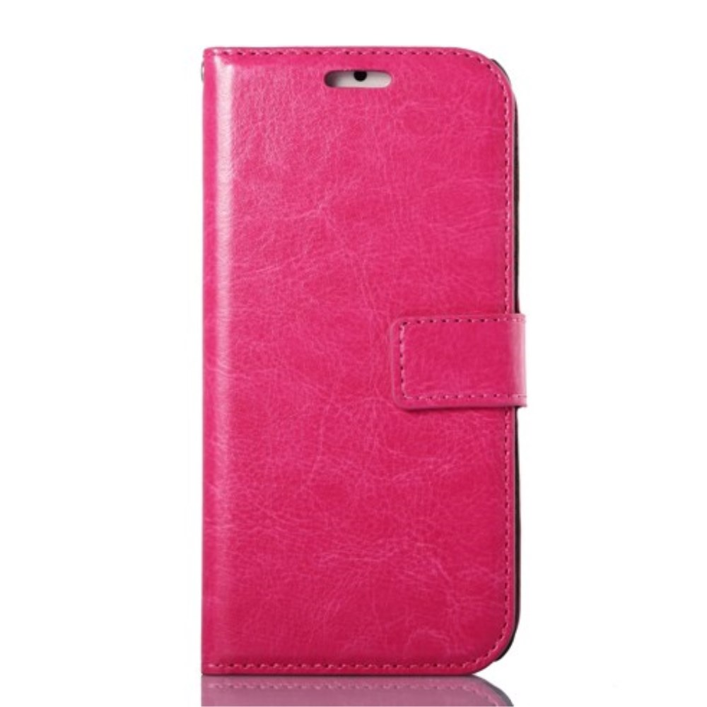 Image of   Apple iPhone 6/6s Stylish Flip Cover m. Pung - Pink