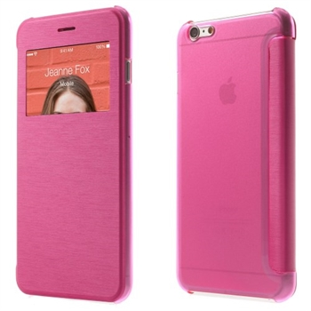 Image of   Apple iPhone 6/6s Plus View Flip Cover - Rosa