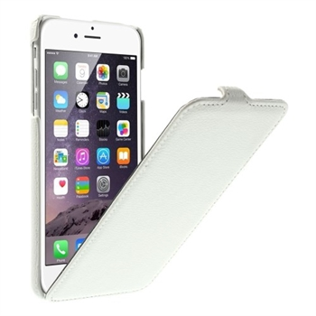 Image of   Apple iPhone 6/6s Plus Style Flip Cover - Hvid