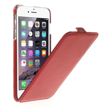 Image of   Apple iPhone 6/6s Plus Style Flip Cover - Rød
